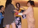 台湾實踐大学にて浴衣の着付け